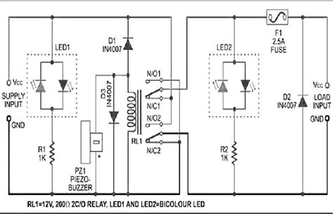 Mains Phase Sequence Indicator Working Principle