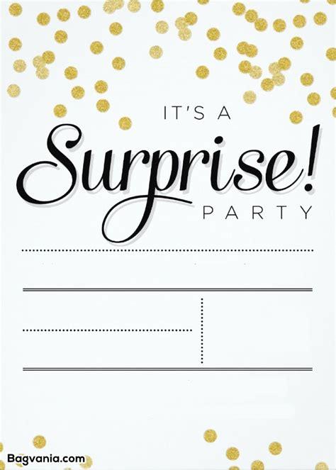 printable surprise birthday invitations bagvania