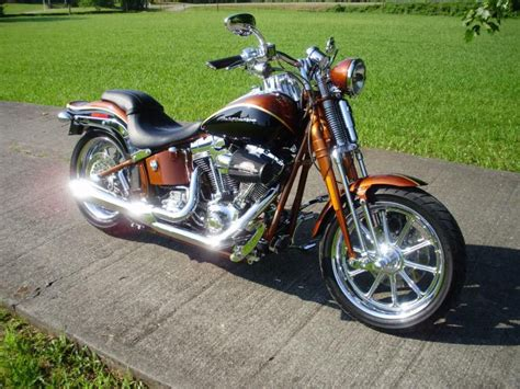 Harley Davidson Cvo Limited Modification by 2008 Screaming Eagle Anniversary Springer For Sale On