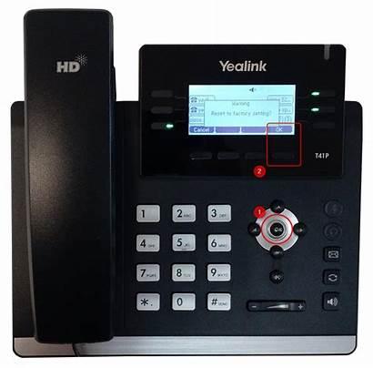 Yealink Reset Factory Ip Phones Phone Button