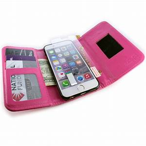 Iphone 1 Ebay : for apple iphone 6s iphone 6 wallet case hot pink purse ~ Kayakingforconservation.com Haus und Dekorationen