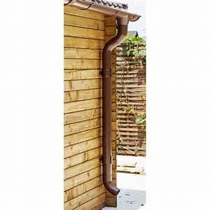 Gouttière Pour Abri De Jardin : kit goutti res marron pack pr t la pose pour abri gardy shelter 9m ~ Melissatoandfro.com Idées de Décoration