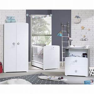 Chambre De Bébé Complete : chambre b b trio nao lit 60x120cm commode armoire de baby price sur allob b ~ Teatrodelosmanantiales.com Idées de Décoration