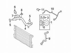 2014 Audi S4 Engine Coolant Expansion Tank  Engine Coolant