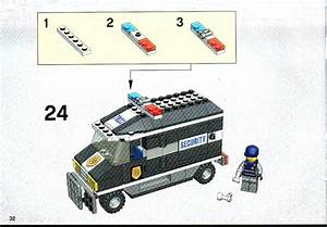 LEGO Police Armoured Car Instructions 7033, World City