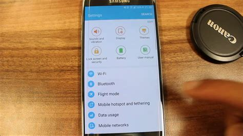 mobile phone tethering s7 how to setup tethering mobile hotspot samsung