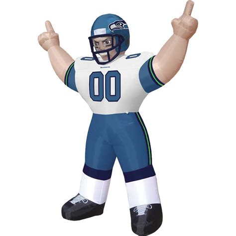 lawn inflatables nfl seattle seahawks seahawks im