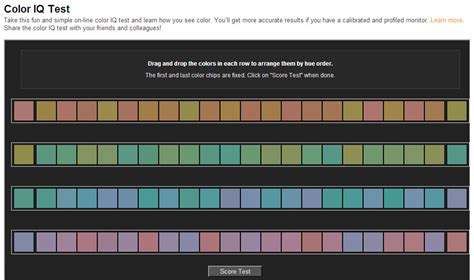 How Do Online Color Vision Tests Compare with Analog ...