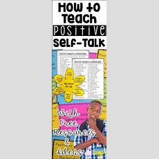 19 Best Positive Selftalk Activities Images On Pinterest  Counseling Activities, Positive Self