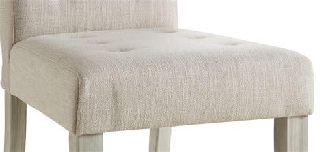 chaise beige salle a manger chaise de salle à manger contemporaine en tissu beige lot