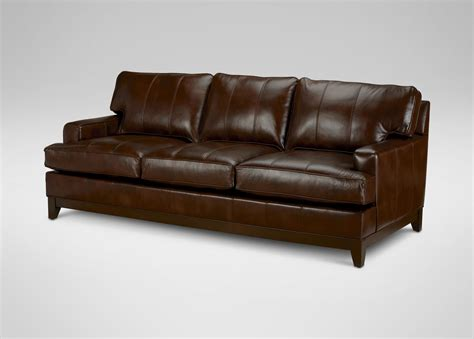 ethan allen sofa reviews leather sofa ethan allen chadwick leather sofa old