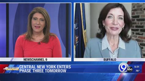 Kathy hochul attended syracuse university where she received her bachelor of arts degree from syracuse in 1980 and a. Lieutenant Gov. Kathy Hochul talks about Phase Three reopening   WSYR