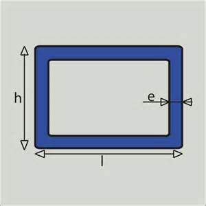 Tube Rectangulaire Acier Dimension : tube rect 200x100x4 ~ Dailycaller-alerts.com Idées de Décoration