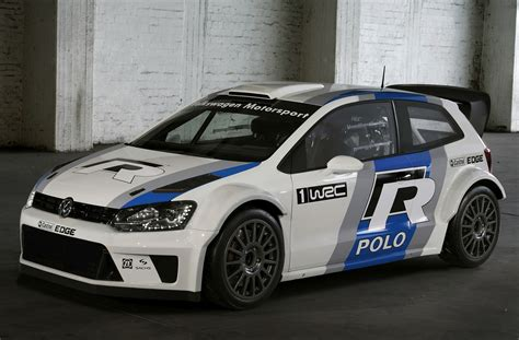 2018 Volkswagen Polo R Wrc Rally Car Unveiled At Frankfurt