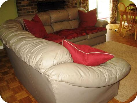 Leather Sectional Sofa Covers Image  Home Design What