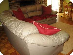 Leather sectional sofa covers image what is so for Sofa slipcovers for leather furniture