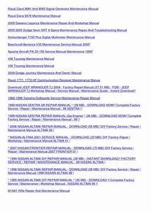 Jeep Wrangler 1999 Tj Factory Service Repair Manual Download