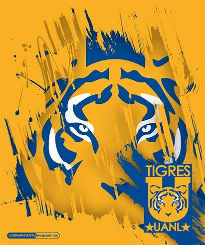 Tigres Uanl Soccer Equipo Futbol Ligraficamx Clipart
