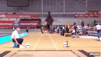 Sagnia Khaddi Jump Glasgow Record National Prix