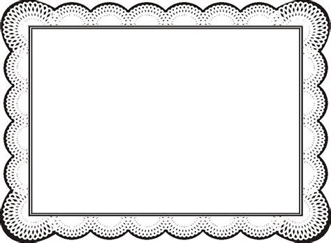 printable  certificate borders printable