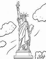 Liberty Statue Coloring Drawing Printable Pdf Cartoon Clipart Sheet Coloringcafe Colouring Crying Lady Coloring4free Drawings Printables Adult Getdrawings Painting Library sketch template