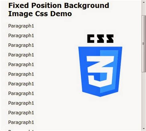 Css Background Image Position Fixed Position Background Image Css Web Knowledge Free