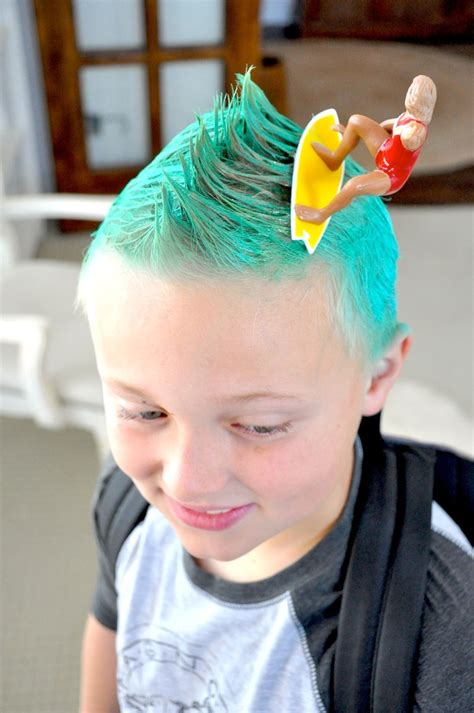 crazy hair day ideas  eleven