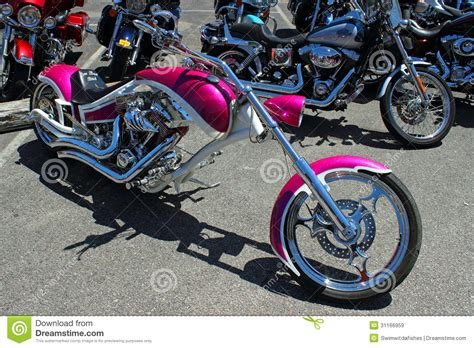 Harley Davidson Myrtle by The Pink Chopper Editorial Stock Image Image 31166959