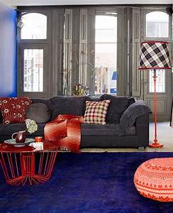 Decoart blog trends home decor trend denim for Red denim sectional sofa