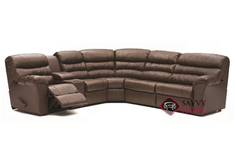 Reclining Sleeper Sofa by Durant By Palliser Leather Reclining True Sectional By