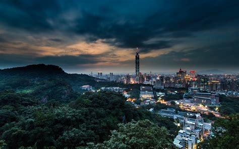 China Taiwan Taipei Cities Architecture Buildings Sky