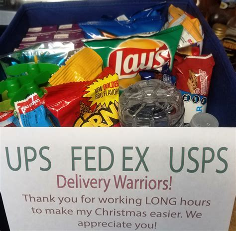 christmas gift for ups driver delivery thank you basket printable quot most pinned quot diy tutorials thank you baskets thank you