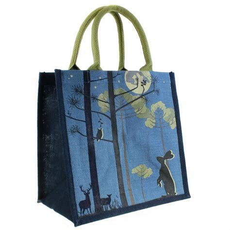 jute shopping bag moonlight