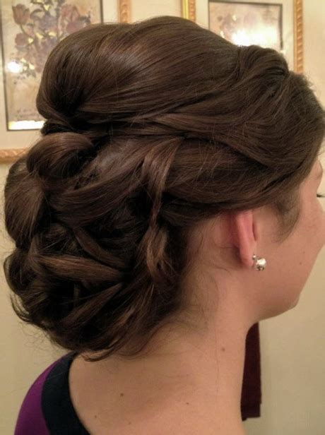 Updo Hairstyles For Hair by Bridal Updo Hairstyles Photos