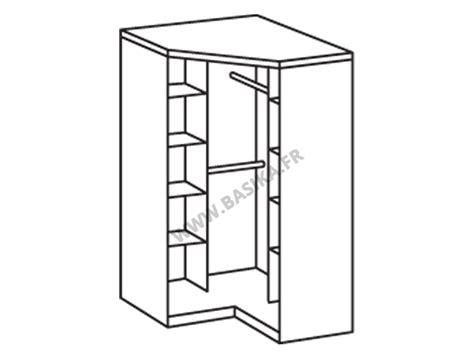 caisson cuisine conforama armoire d 39 angle 2 portes gamma blanc noir