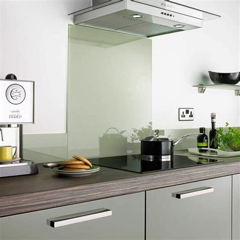 aurora glass splashbacks sage green  kitchens