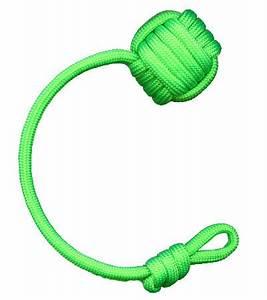 Keychain Neon Green The Monkey Fist