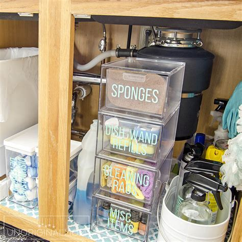 Under The Sink Organization Before And After