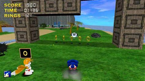 sonic  hedgehog  demo playthrough part  youtube