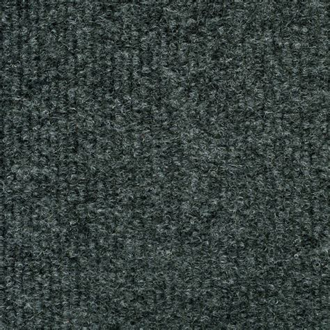 Trafficmaster Ribbed Carpet Tiles by Trafficmaster Gunmetal Ribbed 18 Inch X 18 Inch Carpet