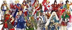 東京奧運「32國旗」全帥哥化! 義大利型男大叔也太撩了吧~ in 2020 | Flags of the world, Anime characters, Flag