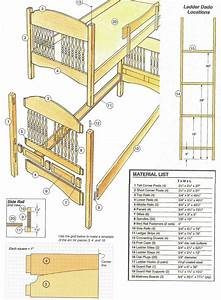 43 best Free bunk bed plans images on Pinterest Bunk bed