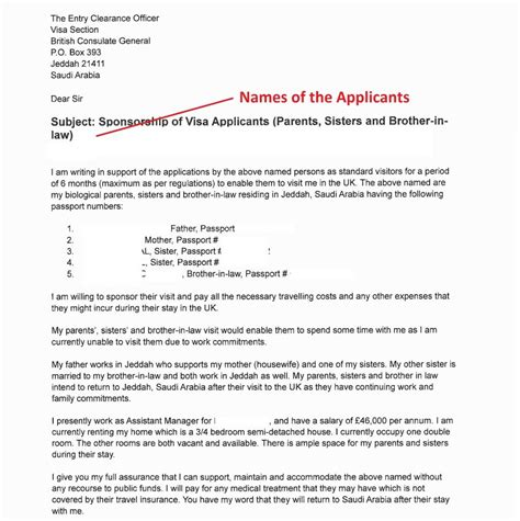 sample invitation letter  apply   uk visa