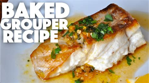 grouper fish baked recipe recipes keto dinner diet seafood fillet filet treats healthy cook ketogenic catch test
