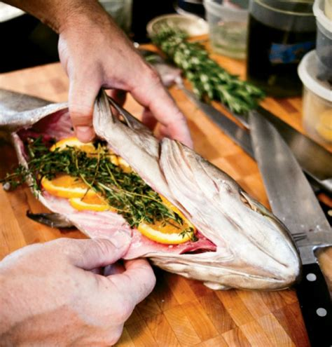 grouper whole roasted recipe encrusted salsa verde salt magazine entree serves charleston charlestonmag