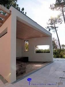 Pool House Toit Plat : r alisation d 39 un pool house contemporain dans la r gion de ~ Melissatoandfro.com Idées de Décoration