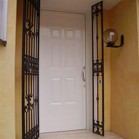 Porta Ingresso Alluminio by Portoncino D Ingresso In Alluminio Vista Esterna Porte