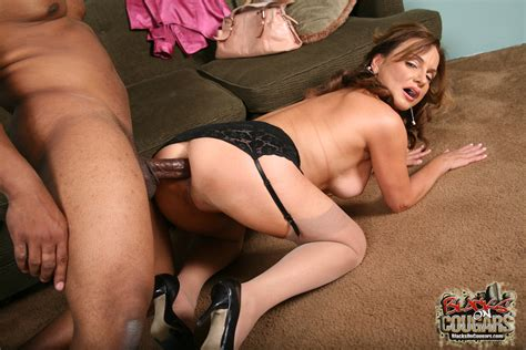 dirty mature slut rebecca bardoux gets her ass fucked and creampied by black cock