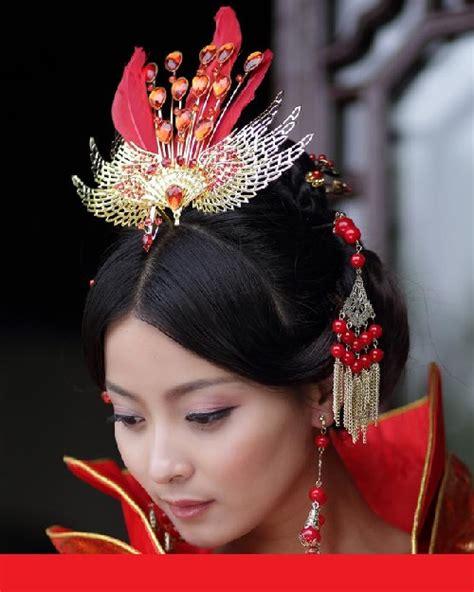 chinese hair style  centuries kaleidoscope effect