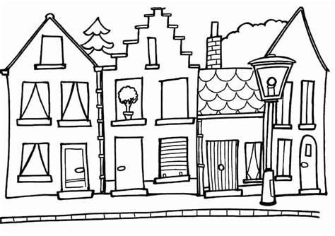 Kleurplaat Huis Met Klimop by Kleurplaat Huis Mooi Tekeningen Huizen Tm79